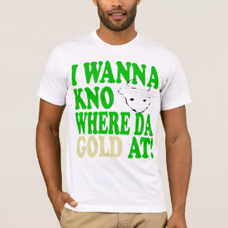 The Crichton Leprechaun Gold Remix Tee T Shirt
