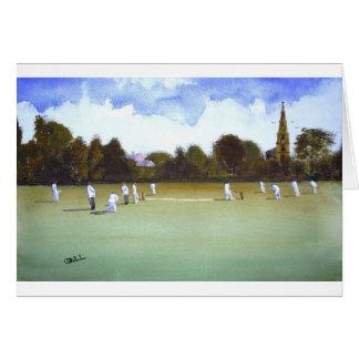The Cricket Match Card