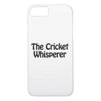 the cricket whisperer iPhone 7 case