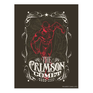 The Crimson Comet - It's Showtime! Poster Postcard