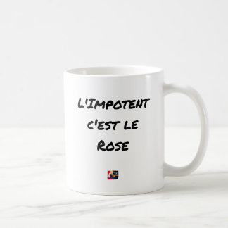 The CRIPPLE, It IS the PINK - Word games Coffee Mug