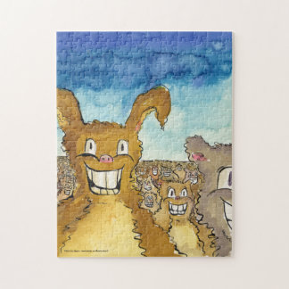 The Critters Are Coming Cartoon Puzzle