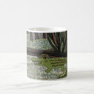 The Crocodile Walk Coffee Mug