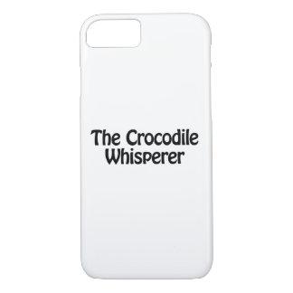the crocodile whisperer iPhone 7 case