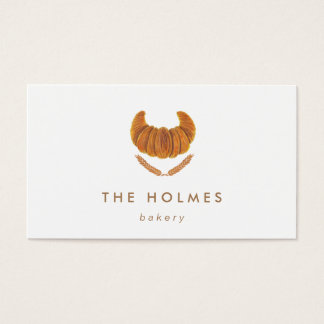 The Croissant Bread Business Card