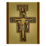 THE CROSS OF SAN DAMIANO POSTER