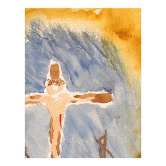 The Cross Personalized Letterhead