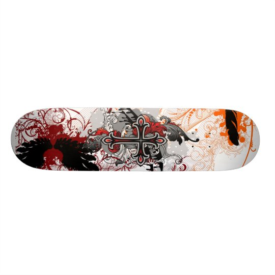 The Cross Skateboard Decks