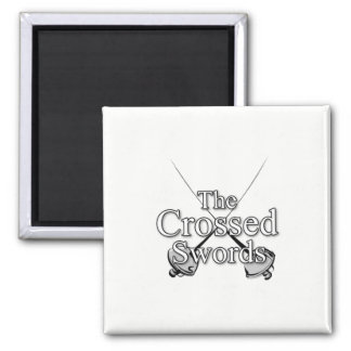 The Crossed Swords Magnet