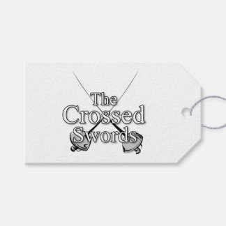 The Crossed Swords Pack Of Gift Tags