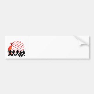 The Crossing Guard Photo Frame Bumper Sticker