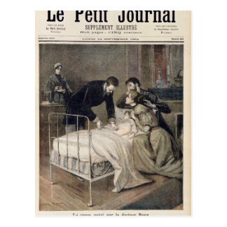 The Croup Cured by Doctor Roux Postcard