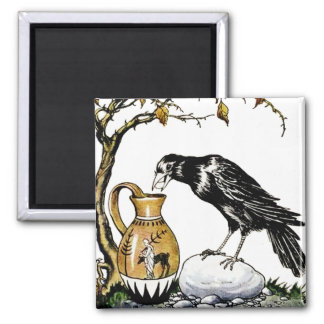 The Crow and the Pitcher Magnet