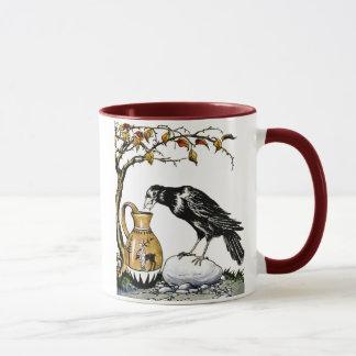 The Crow and the Pitcher Mug