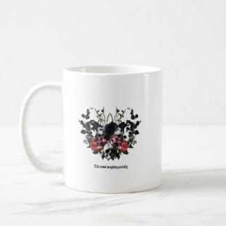 The Crow Laughing Awfully Coffee Mug