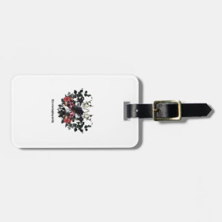 The Crow Laughing Awfully Luggage Tag