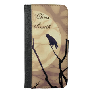 The Crow, The Moon, The Shadows *personalize* iPhone 6/6s Plus Wallet Case