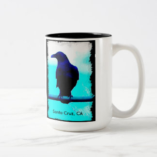 The Crow Two-Tone Coffee Mug