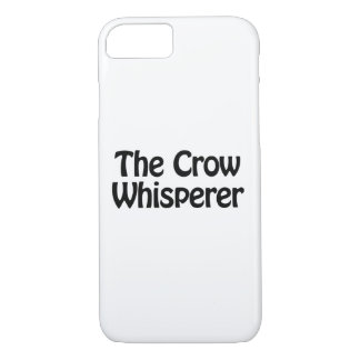 the crow whisperer iPhone 7 case