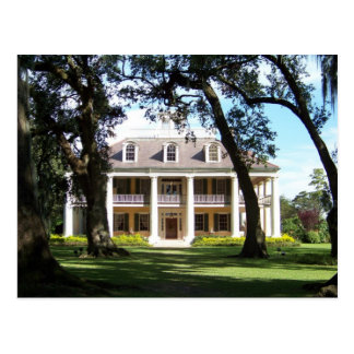 The Crown Jewel of River Road- Houmas House Postcard