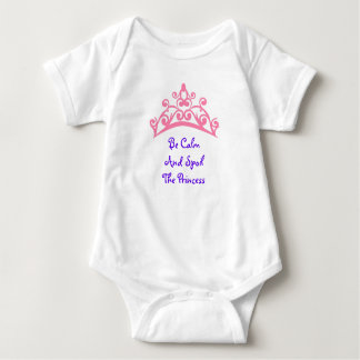 The Crowned Princess Baby Bodysuit