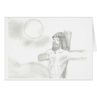 """The Crucifixion"" an Easter card"