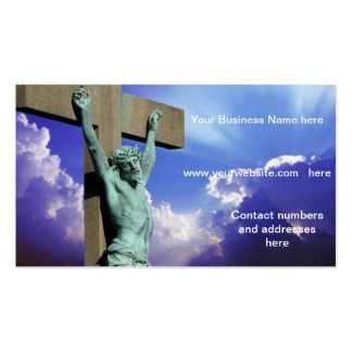 The Crucifixion business card
