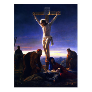 The Crucifixion of Jesus. Fine Art  Postcards