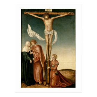 The Crucifixion (panel) Postcard
