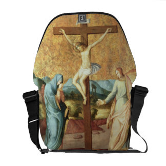 The Crucifixion with the Virgin and St John the Ev Commuter Bag