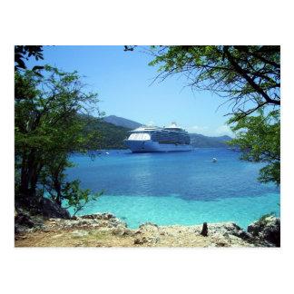 The cruise postcard