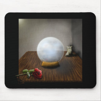 The Crystal Ball Mouse Pad