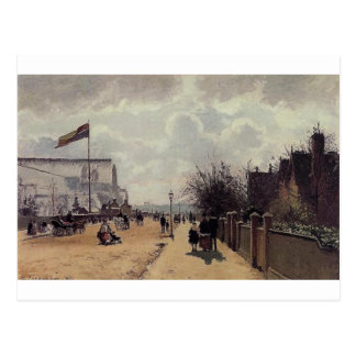 The Crystal Palace, London by Camille Pissarro Postcard