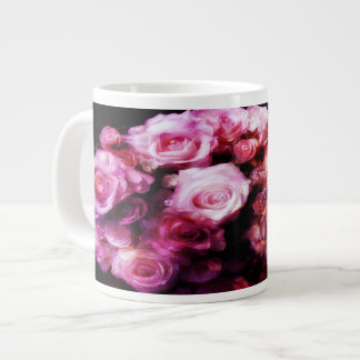 The Crystal Rose Bouquet Large Coffee Mug