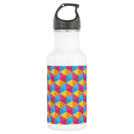 The Cube Pattern I 532 Ml Water Bottle