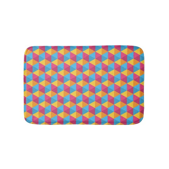 The Cube Pattern I Bath Mat