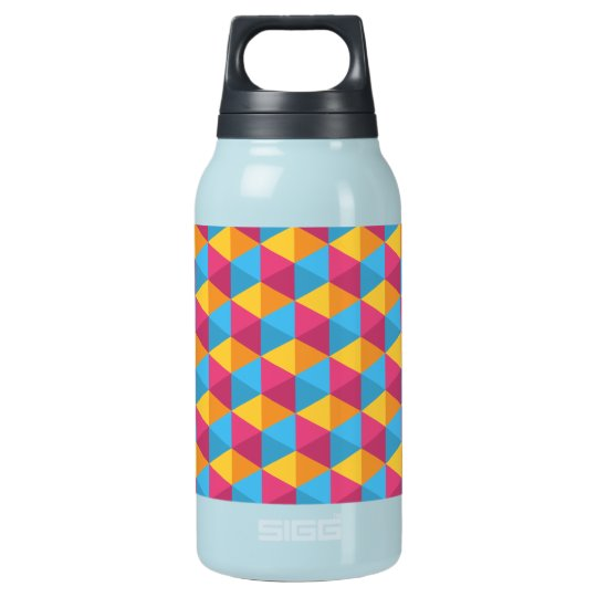 The Cube Pattern I Insulated Water Bottle
