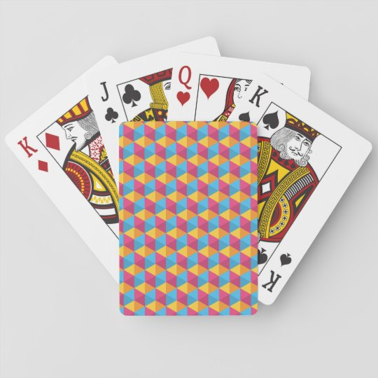 The Cube Pattern I Playing Cards