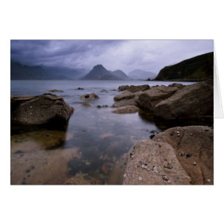 The Cullins from Elgol Card