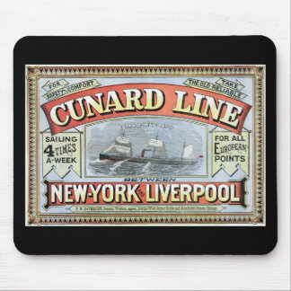 The Cunard Line Mouse Pad