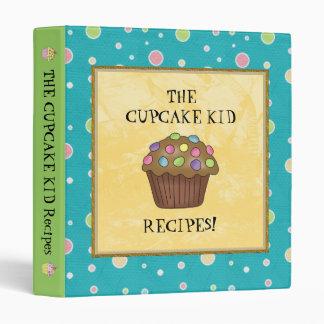 The Cupcake Kid Recipe Binder