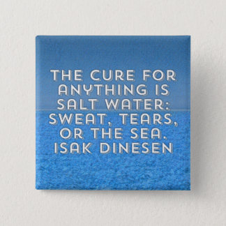 The Cure 2 Inch Square Button