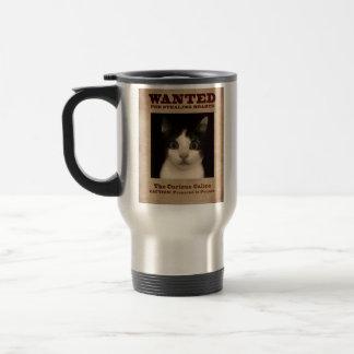 The Curious Calico Kitten Travel Mug