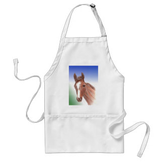 The curious foal standard apron