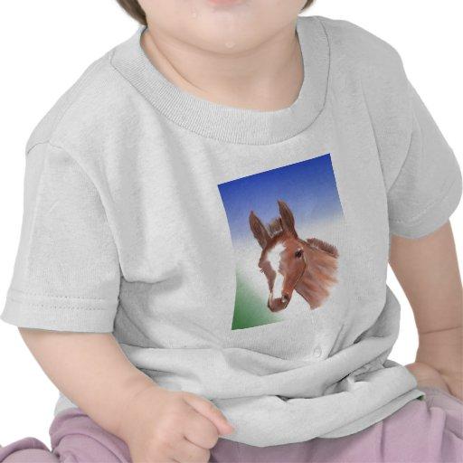 The curious foal shirt