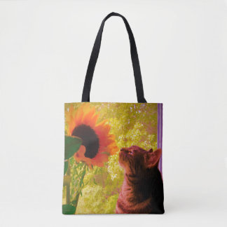 The Curious One Tote Bag