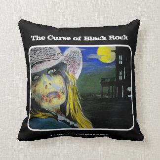 'The Curse of Black Rock' (Throw) American MoJo Pi Throw Pillow