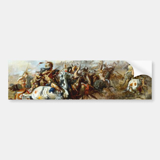 The Custer Fight Bumper Sticker