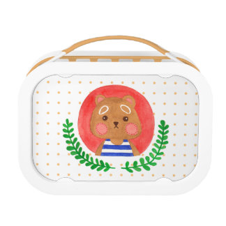 The Cute Bear Lunchboxes