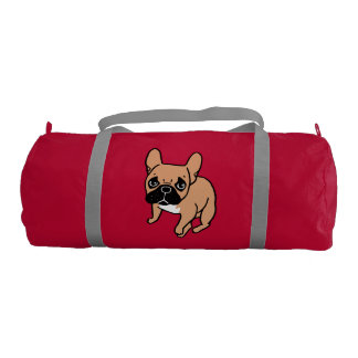 The Cute Black Mask Fawn Frenchie Needs Attention Gym Bag